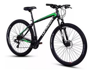 Bicicleta Mtb Mustang R29 21 Top Mega Linga+led+inflador Fas