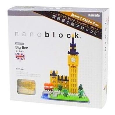 Nanoblock Big Ben Londres Rompecabezas 3d Tienda Oficial