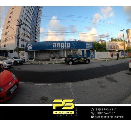 Imagem 1 de 4 de Ponto Para Alugar, 1.500 M² Por R$ 8.000/mês - Torre - João Pessoa/paraíba - Pt0059
