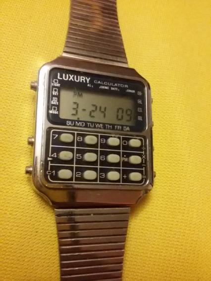 Reloj De Pulsera Vintage Luxury Calculator