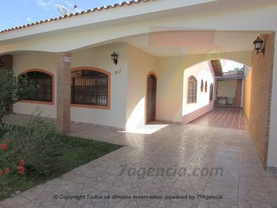 Ch23 Casa No Centro C/ 3 Quartos Edicula Churrasqueira