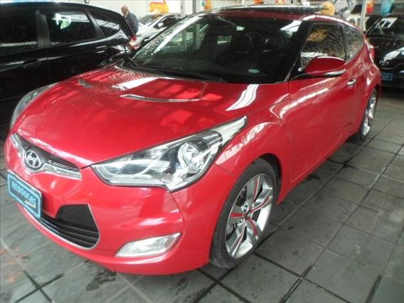 Hyundai Veloster 1.6 16v Top De Linha/teto/couro/multimidia