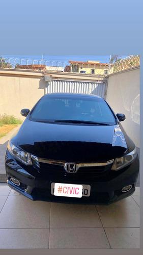 Imagem 1 de 8 de Honda Civic 2012 1.8 Exs Flex Aut. 4p