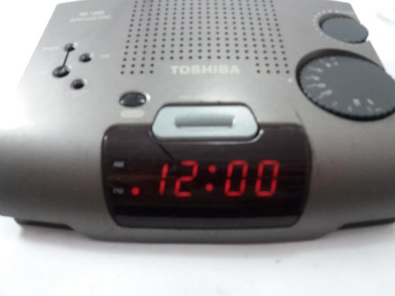 Rádio Relógio Toshiba Rr-1266 (usado)
