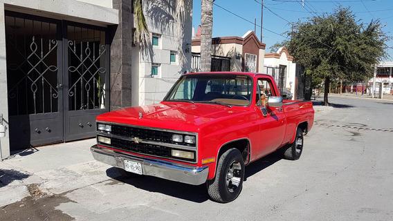 Chevrolet Cheyeem Roja Año 1990