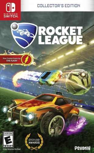 Jogo Mídia Física Rocket League Para Nintendo Switch