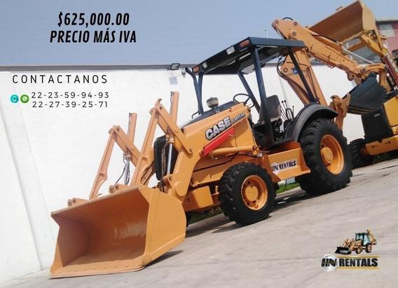 Retroexcavadora Case 580m 4x4 Año2001 Con Kit Precio Más Iva