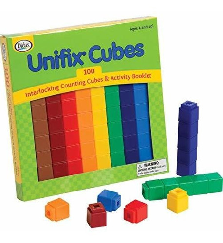 Didax Educational Resources Unifix Cubes Set (paquete De 100