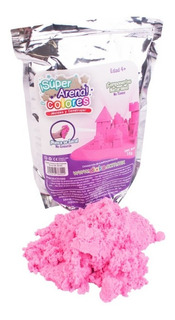 Arena Magica 1 Kg Colores Kinetic Super Sand Moldeable Play