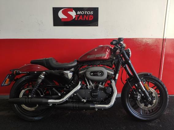 Harley Davidson Xl 1200 Cx Roadster Abs 2017 Vermelha