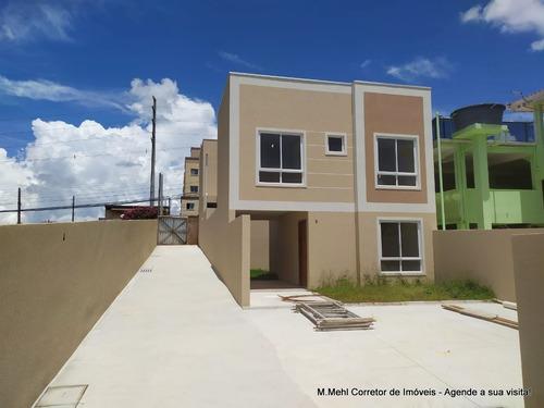 Sobrado Em Condomínio Com 3 Dormitórios À Venda Com 84.98m² Por R$ 350.000,00 No Bairro Bairro Alto - Curitiba / Pr - M2ba-rmm2