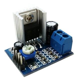 Modulo Amplificador De Audio Mono 18w Clase Ab 6 A 12v Sgk