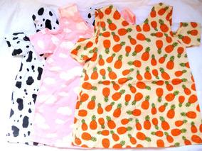 Kit 3 Vestidos Infantil