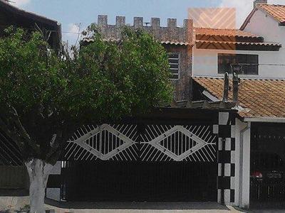 Sobrado Residencial À Venda, Jardim Amaral, Itaquaquecetuba. - Codigo: So0848 - So0848