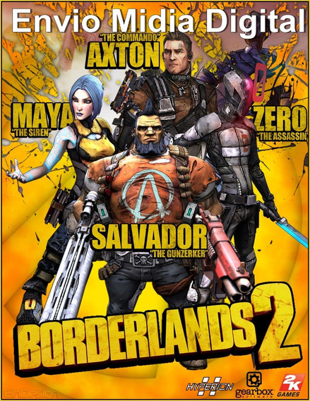 Borderlands 2 Pc Hd Original
