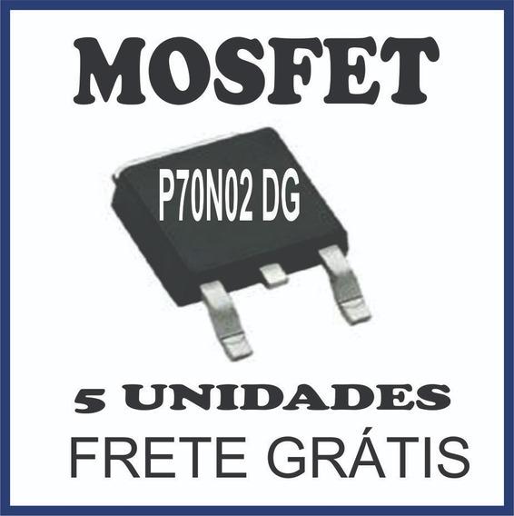 Transistor Mosfet P70n02 Dg Original (5 Unidades)