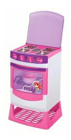 Fogão Infantil Magic Toys Eletrônico Emite Som E Luzes