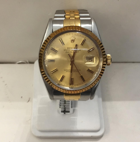 Reloj Caballero Rolex Mod Datejust Ref 16013 36mm