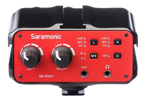 Mixer De Audio Para Camera - Sr-pax1 - Saramonic Com Nf