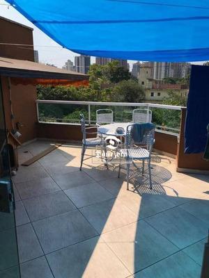 Sobrado Com 3 Dormitórios À Venda, 230 M² Por R$ 790.000 - Vila Guiomar - Santo André/sp - So2430