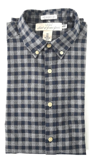 Camisa L.o.g.g. - Label Of Grade H&m Original Importada