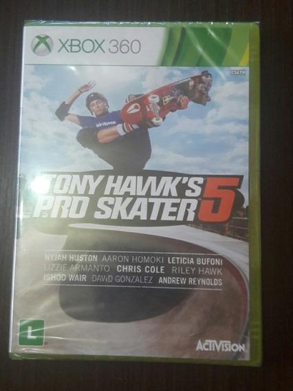 Jogo Tony Hawk´s Pro Skater 5 - Xbox 360 (mídia Física)