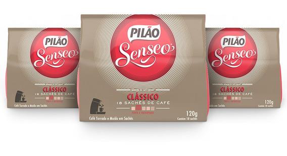 Kit 54 Sachês Pilão Senseo Clássico
