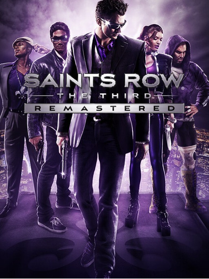 Saints Row The Third Remastered- Pc Midia Digital