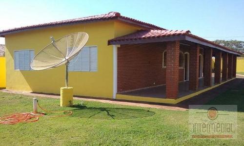Chácara Residencial À Venda, Fazenda Castelo, Boituva. - Ch0317