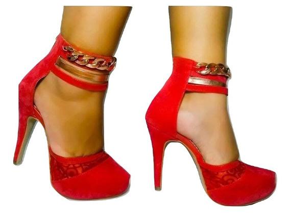 Sapato Vermelho Feminino Frete Gratis