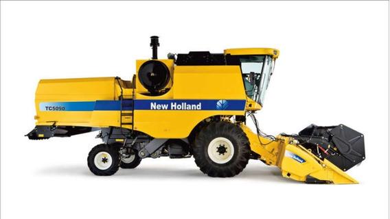 Adesivo Colheitadeira New Holland Tc5090 Tc 5090