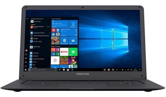 Notebook Positivo Motion Plus 432a Intel A 4gb Windows 10