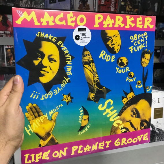 Lp Maceo Parker - Life On Planet Groove Vinyl Duplo Importad