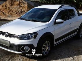 Volkswagen Saveiro Cross 1.6 Cd T. Flex 2015 Branca
