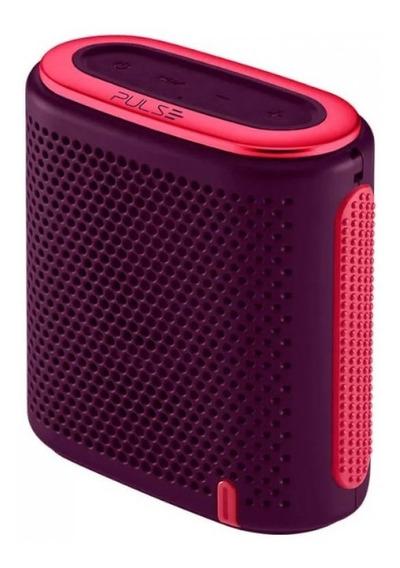 Caixa De Som Pulse Mini Bluetooth/sd/p2 10w Rms Sp239