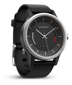 Relógio De Luxo Garmin Vívomove Bluetooth Acelerômetro Preto
