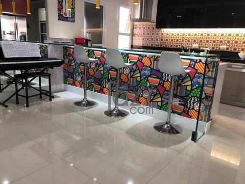 Lindo Apartamento Completo Com 2 Suítes E Escritório À Venda, 130 M² Por R$ 1.000.000 - Vila Marlene - São Bernardo Do Campo/sp - Ap5505