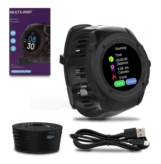 Relógio Multiwatch Plus Sw2 Bluetooth Multilaser P9080