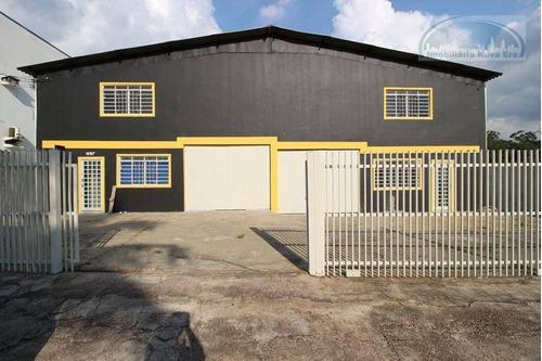Galpão À Venda, 601 M² Por R$ 2.300.000,00 - Jardim Nova Era - Vinhedo/sp - Ga0003