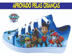 Sapato Infantil Tênis Masculino Patrulha Canina Menino L10