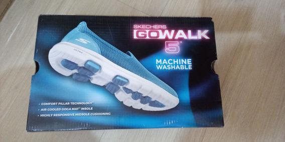 Tenis Skechers -go Walk 5 - Para Atletas Em Geral - Usado