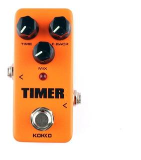 Pedal Kokko Fdd2 Mini Timer Delay C Tap Tempo Efecto Guitar