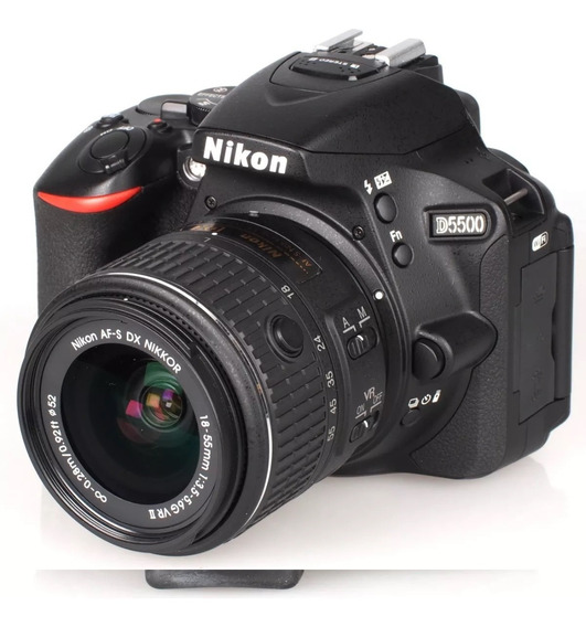 Camera Nikon D5500 C/ Kit De Lentes