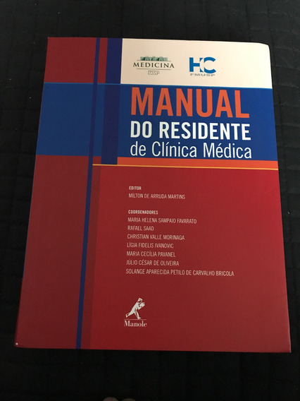 Manual Do Residente De Clínica Médica 2015 Fmusp