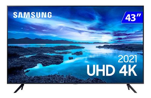 Imagem 1 de 4 de Smart Tv Samsung 43 Led 4k Crystal Wi-fi