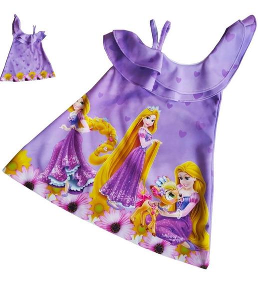Vestido Con Bolero Rapunzel - Ig