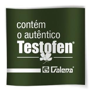 Testofen® Original 300mg 120cáps - Selo Autenticidade Galena