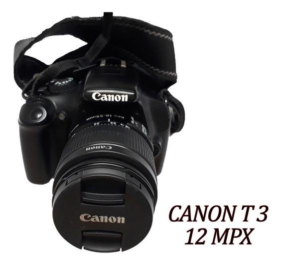 Camara Digital Canon Eos 1100d T3 Usada