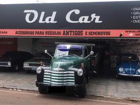 Caminhão Chevrolet Boca De Sapo 1950.