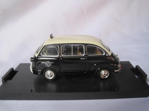 Fiat 600d Multipla 1960 Taxi - T 23 Brumm 1/43